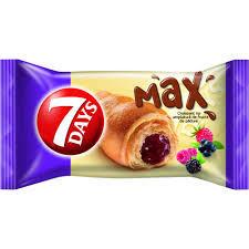 7Days Max croissant fructe de padure 85 g