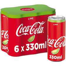 Bautura carbogazoasa cu lime doza 6x0.33l Coca-Cola