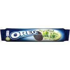 Biscuiti cu crema si aroma de menta 154g Oreo