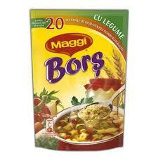 Bors Maggi cu gust de legume, 200g