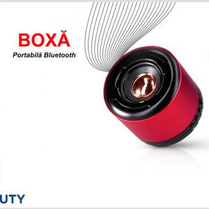Boxa portabila bluetooth cu microfon incorporat