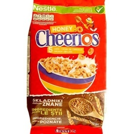 Cereale cu miere Cheerios 500g Nestle