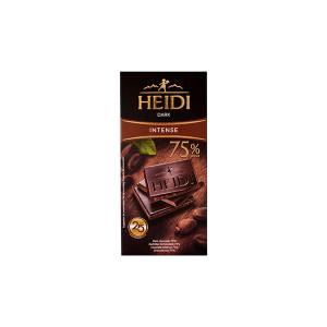Ciocolata amaruie Heidi Dark 75% cacao 80 gr