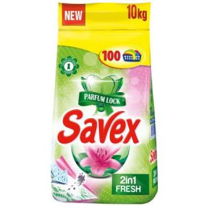 Detergent automat Savex 2in1 Fresh, 100 spalari, 10kg