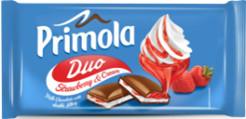 Primola Milk Strawberry & Cream 89g