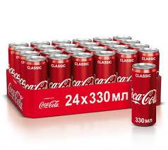 Bautura racoritoare carbogazoasa doza 330ml Coca-Cola Gust Original