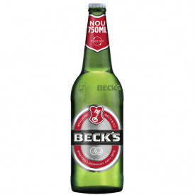 Bere blonda Beck's, sticla 0.75L