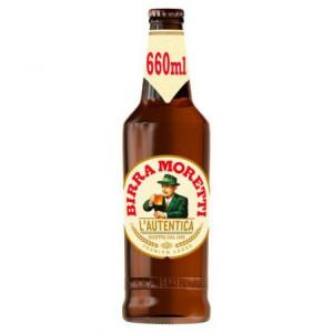Birra Moretti bere blonda pasteurizata sticla 660ml