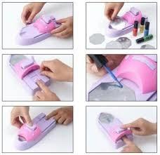 DIY Nail Magic Machine - Multicolor