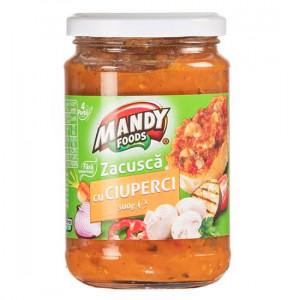 Mandy Zacuscă cu ciuperci - 300 g