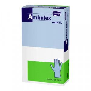 Manusi nitril nepudrate Ambulex marimea M