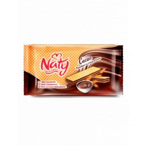 NATY Napolitane cu cremă de cacao 160g