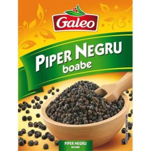 Piper negru boabe 17g Galeo
