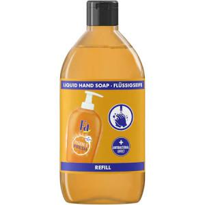 Rezerva sapun lichid Fa Hygiene&Fresh Orange, efect antibacterian, 385ml