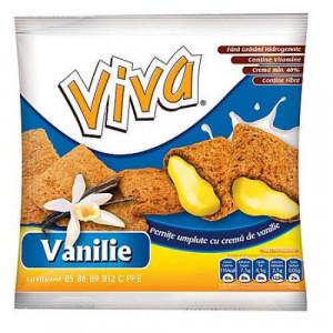 Viva pernițe umplute cu cremă de vanilie 100g