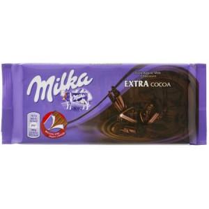 Ciocolata cu extra cacao 100g Milka