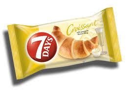 Croissant cu crema cu aroma de vin spumant Max 85g 7Days