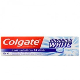 Pasta de dinti Colgate Advanced White, 100 ml
