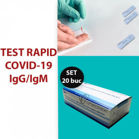 Test rapid COVID-19 IgG/ IgM (set 20 buc)