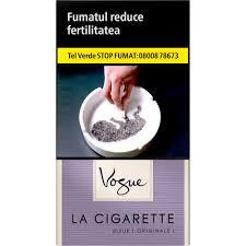 Tigari La Cigarette Bleue Vogue