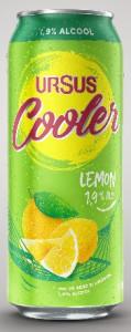 Ursus Cooler Lemon bere cu lamaie doza 500ml