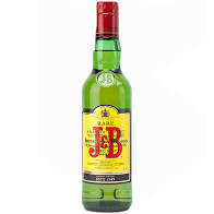 Whisky J&B Rare, Blended 40%, 0.5l