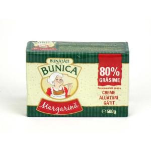 BUNICA MARGARINA 80% 500G