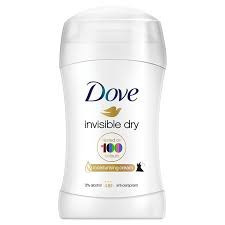 Deodorant stick Dove 40ml Invisible Dry