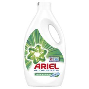 Detergent lichid Ariel Mountain Spring, 40 spalari, 2.2L