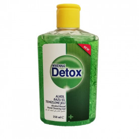 DETOX GEL ANTIBACTERIAN & DEZINFECTANT DE MAINI 250ML