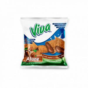 OLLA Snacks - Alunițe umplute cu cremă de cacao 100g