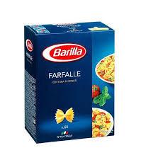 Paste scurte farfalle n65 Barilla, 500g