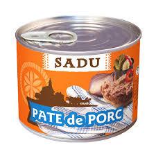Pate de porc 200g Sadu