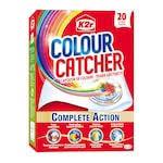 Aditiv pentru spalare K2r Colour Catcher, 20 Spalari