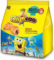 Chipicao. Mini croissant cu umplutura de cacao 60g