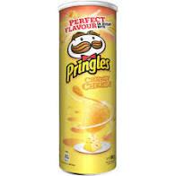Chipsuri cu gust de branza Pringles, 165g