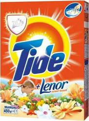 Detergent Manual Tide 2in1 Lenor Touch 450g