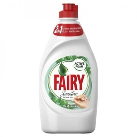 Fairy Sensitive Teatree and Mint detergent de vase 400 ml