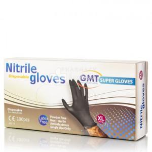 MANUSI- Nitrile Super Gloves Fără pudră L 100 buc