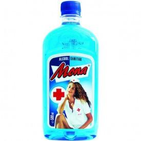 MONA ALCOOL SANITAR 70% 0.5L