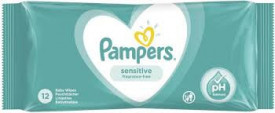 Servetele umede copii PAMPERS Sensitive 52buc