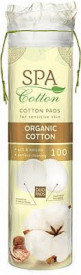 Spa Cotton Dischete demachiante Organic Cotton, 100 buc