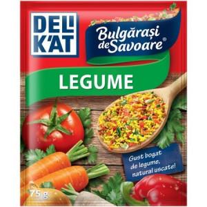Baza pentru mancaruri Bulgarasi de savoare, cu gust de legume 75g Delikat