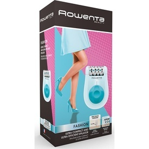 Epilator Rowenta Fashion EP1025, 24 pensete, 2 viteze, Alb/Bleu