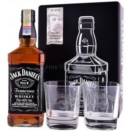 JACK DANIEL'S CUTIE METAL & 2 PAHARE 0.7L 70cl / 40%