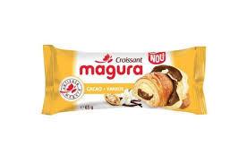 Magura. Croissant cu umplutura de cacao si vanilie 80g
