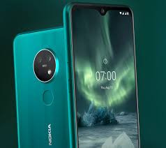 Nokia 7.2 DS, 128GB, Octa-core, 6.3 Inches, 6GB Cyan Green