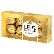 Praline Ferrero Rocher, 8 bomboane, 100g