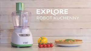 Robot de bucatarie Russell Hobbs Explore 19460-56, 550 W, Bol 1.8 l, functie Pulse, Alb/Verde