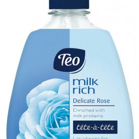Sapun lichid Teo Milk Rich Delicate Rose 400 ml